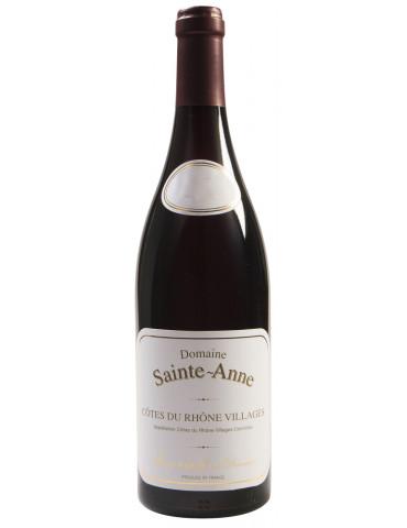 Domaine Sainte Anne - Côtes du Rhône Villages - AOP Côtes du Rhône Villages - Vin Rouge - 75 cl