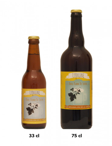 Bière blonde de Lozère - Lupuline - Brasserie de la Jonte - 5,5°