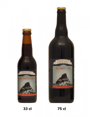 Brasserie de la Jonte - Bière brune de Lozère - Pounchut - 6°