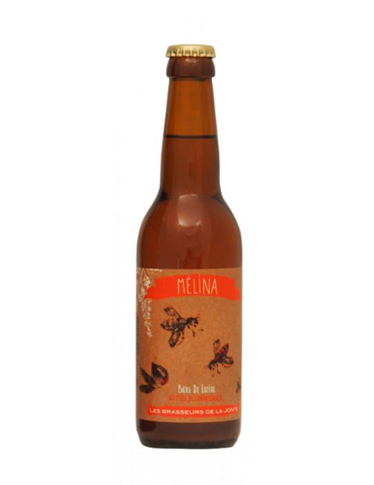 Bière blonde de Lozère au Miel de Châtaignier - Mélina - Brasserie de la Jonte - 33cl