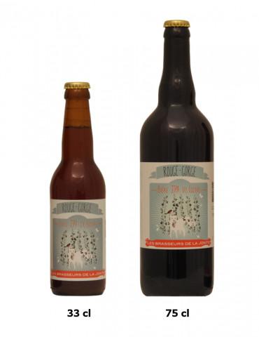 Brasserie de la Jonte - Bière IPA ambrée de Lozère - Rouge-Gorge - 7°