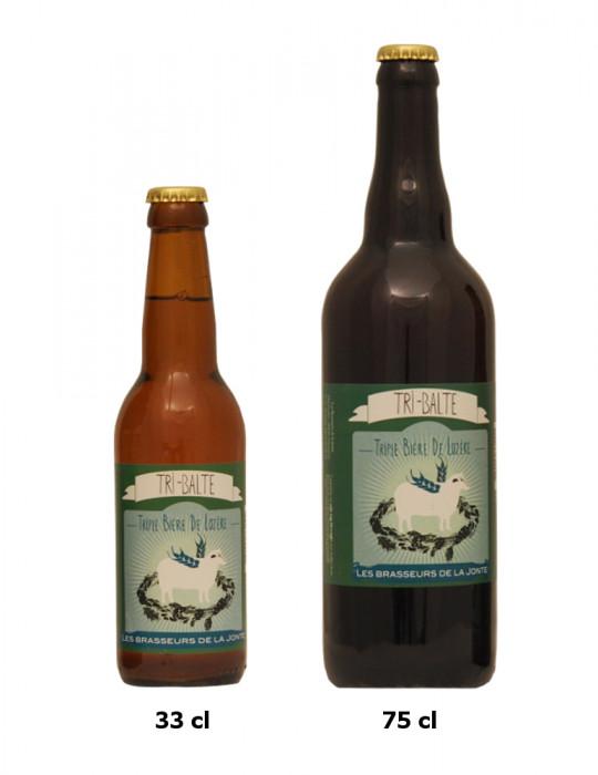 Bière blonde triple de Lozère - Tri-Balte - Brasserie de la Jonte