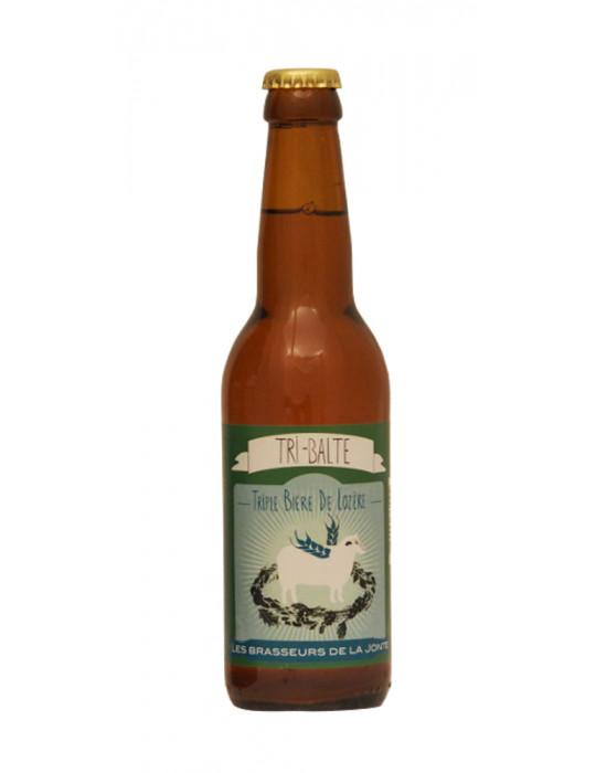Bière blonde triple de Lozère - Tri-Balte - Brasserie de la Jonte 33 CL