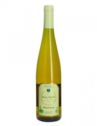 Domaine Ruhlmann - Pinot Gris - AOC Alsace Pinot Gris - Vin blanc bio - 75 cl