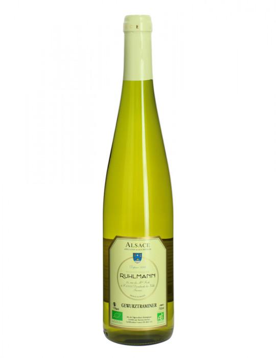 Gewurztraminer biologique - AOC Gewurztraminer - Vin Blanc bio - Domaine Ruhlmann - 75 cl