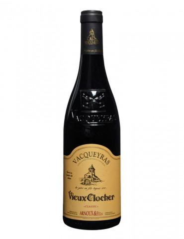 Maison Arnoux & Fils - Cuvée Vieux Clocher - Vacqueyras AOC - vin rouge - 75 cl