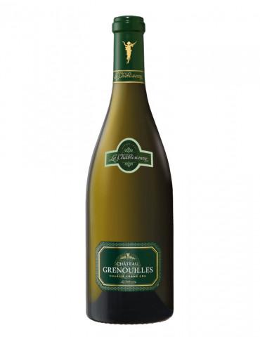 La Chablisienne - Cuvée Château Grenouilles - Chablis 1er cru - Vin Blanc - 75 cl