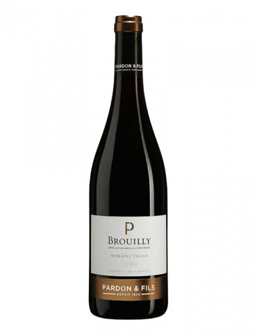 Pardon et Fils - Domaine Tavian - AOP Brouilly - Beaujolais - Vin Rouge - 75 cl