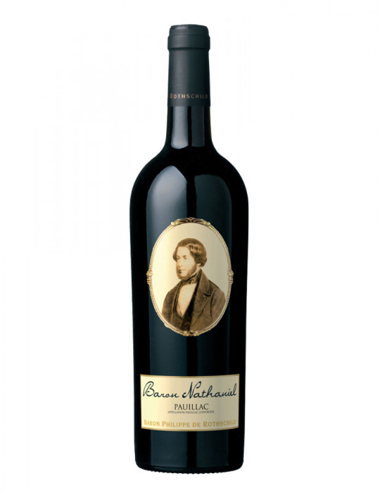 VIN ROUGE-BARON PHILIPPE DE ROTHSCHILD-BARON NATHANIEL