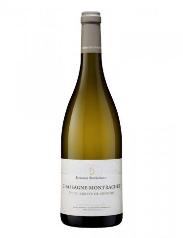 Domaine Berthelemot - Chassagne Montrachet 1 er Cru - Abbaye de Morgeot - AOC Chassagne Montrachet - Vin Blanc - 75 cl