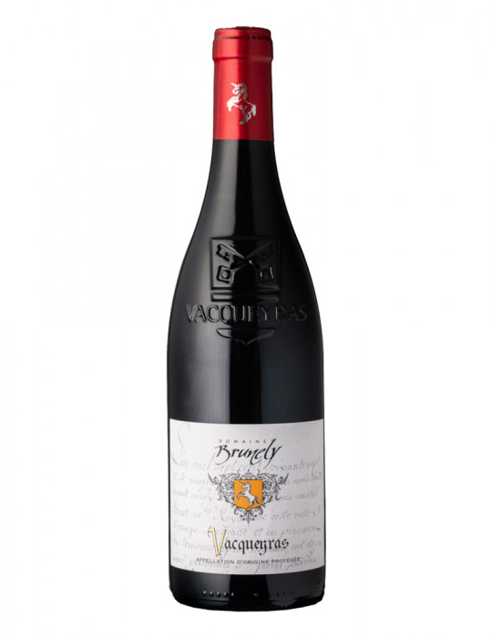 VIN ROUGE-DOMAINE BRUNELY-VACQUEYRAS TRADITION ROUGE