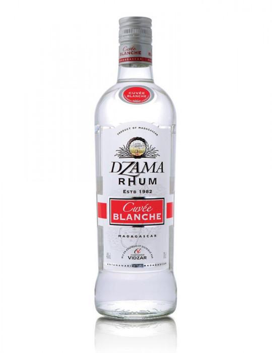 Bouteille de rhum - Cuvée Blanche Classique 40° - Dzama - 70 cl