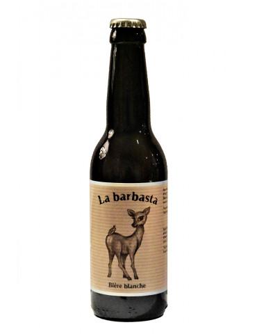 La Brasseuse des Cévennes - Bière blanche de Lozère - La Barbasta - 5°