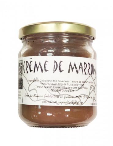 Ferme des Mourènes - Crème de marrons Bio - 220g