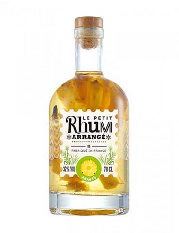 Le Petit Rhum Arrangé - Ananas 32° - Rhum - 70 cl