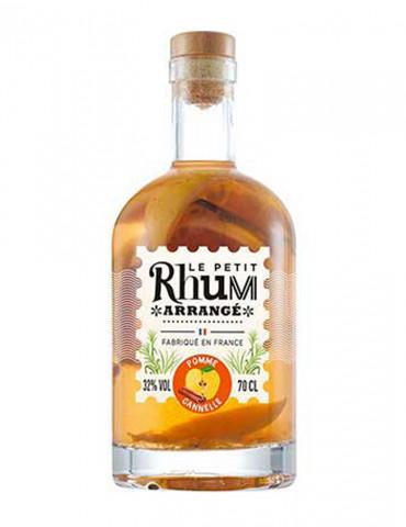 Le Petit Rhum Arrangé - Pomme Cannelle 32° - Rhum - 70 cl