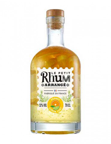Le Petit Rhum Arrangé - Orange Citron Vert 32° - Rhum - 70 cl