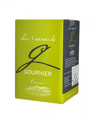 Domaine de Gournier - Les 3 Saisons - IGP Cévennes - Vin Blanc - Bag in Box