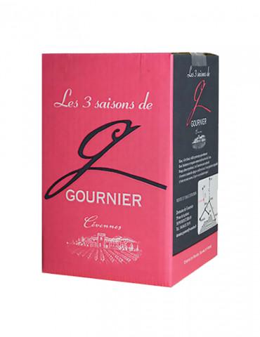Domaine de Gournier - Les 3 Saisons - IGP Cévennes - Vin Rosé - Bag in Box