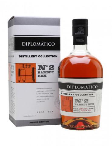 Diplomatico - N°2 Barbet 47° - Rhum - 70 cl