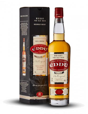 Eddu Sylver The Original - Whisky de Bretagne 40° - Single Malt Whisky