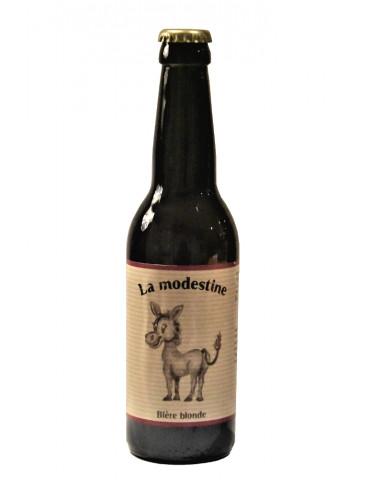 Bière blonde de Lozère - La Modestine - La Brasseuse des Cévennes - 5°