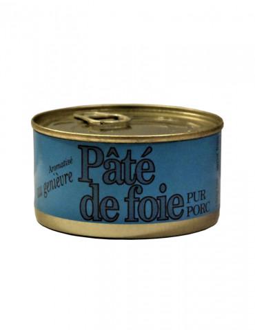 Boucherie Charcuterie Veyssade - Pâté de foie pur porc au Genièvre - 180 g