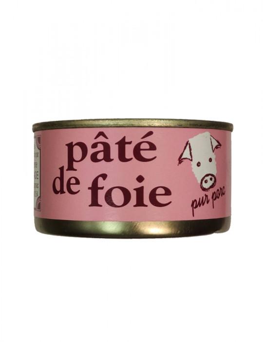 Boucherie Charcuterie Veyssade - Pâté de foie pur porc - 180 g