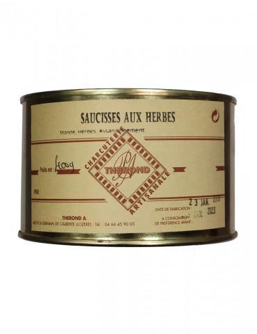 Charcuterie Maison André Thérond - Saucisses aux herbes - 400 g