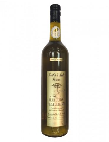 Moulin à Huile Paradis - Huile d'olive fruitée à l'ancienne - 75 cl