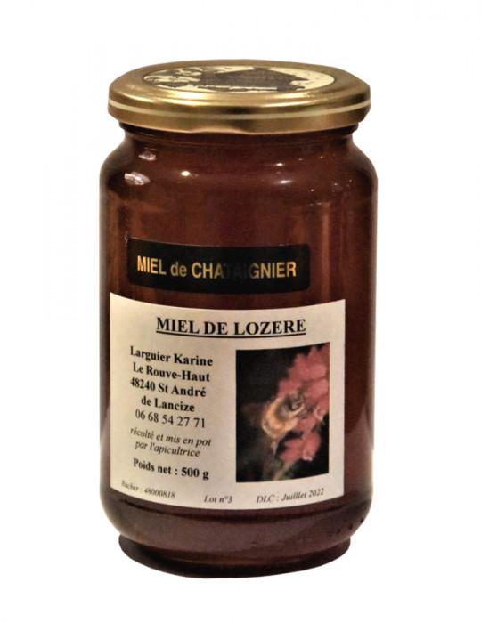 Miel de Châtaignier - Larguier Karine - 500 g