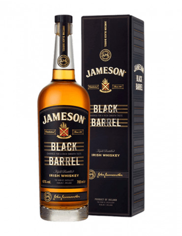 Jameson Black Barrel - Whisky Irlandais 40°