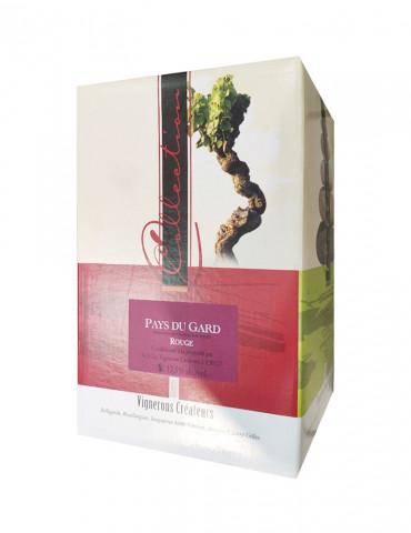 Les Vignerons Créateurs - AOP Costières de Nîmes - Vin rouge - Bag in Box
