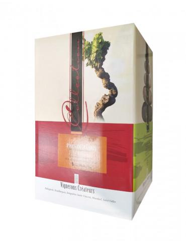 Les Vignerons Créateurs - AOP Costières de Nîmes - Vin Rosé - Bag in Box