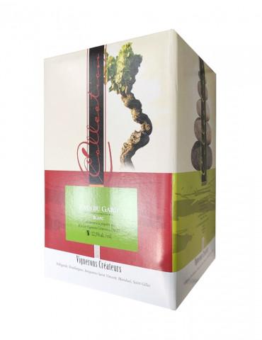 Les Vignerons Créateurs - AOP Costières de Nîmes - Vin Blanc - Bag in Box