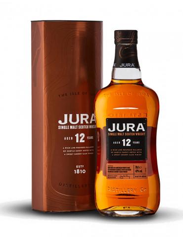 Jura 12 ans - Whisky Ecossais 12 ans 40° - Single Malt - 70 cl
