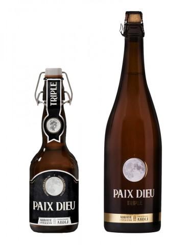 Brasserie Caulier - Bière d'Abbaye blonde Triple - Paix Dieu - 10°