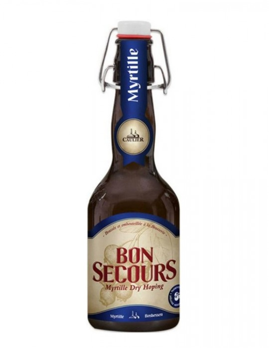 Bière aromatisée à la myrtille - Bon Secours - brasserie Caulier