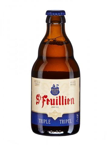 Brasserie St Feuillien - Bière blonde triple - St Feuillien Triple - 8,5°