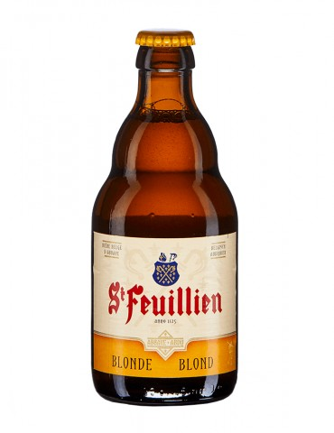 Brasserie St Feuillien - Bière blonde - St Feuillien blonde - 7,5°