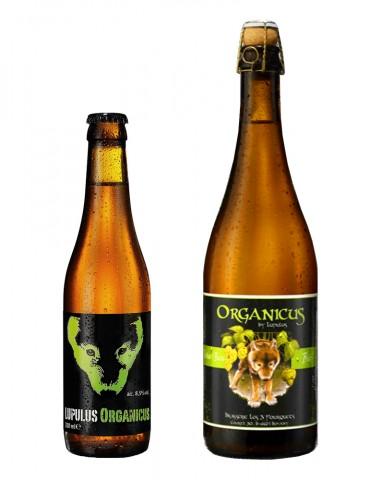 Brasserie Lupulus - Bière blonde Triple - Organicus - 8,5°