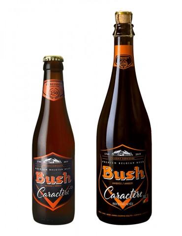 Brasserie Dubuisson - Bière ambrée - Bush Caractère - 12°