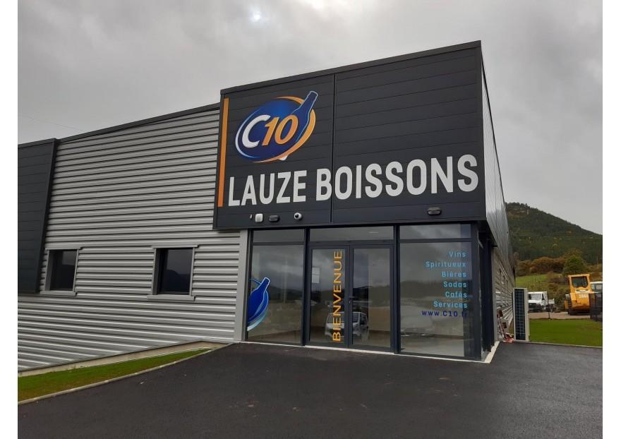 Lauze Boissons : Notre nouvel entrepôt logisitique à Mende